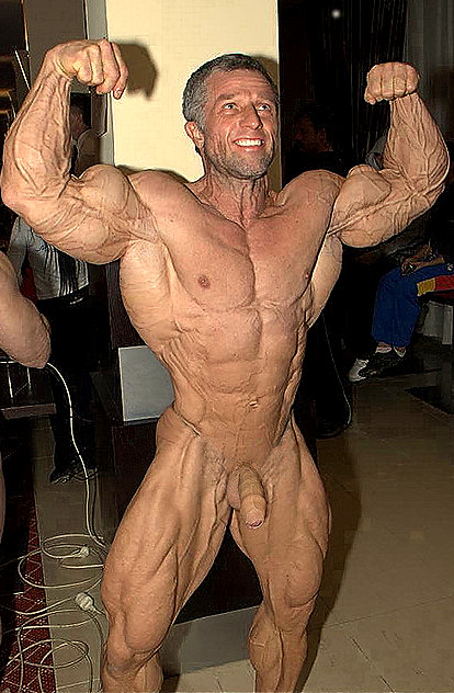 Body building homme nu