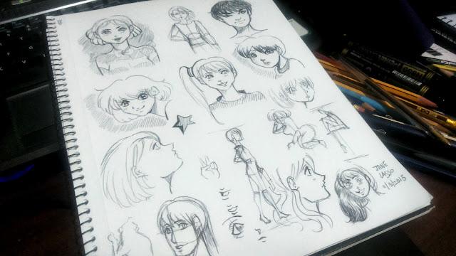 Dibujos con bolígrafo