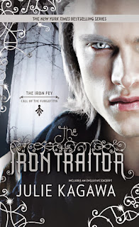 book cover of The Iron Traitor by Julie Kagawa