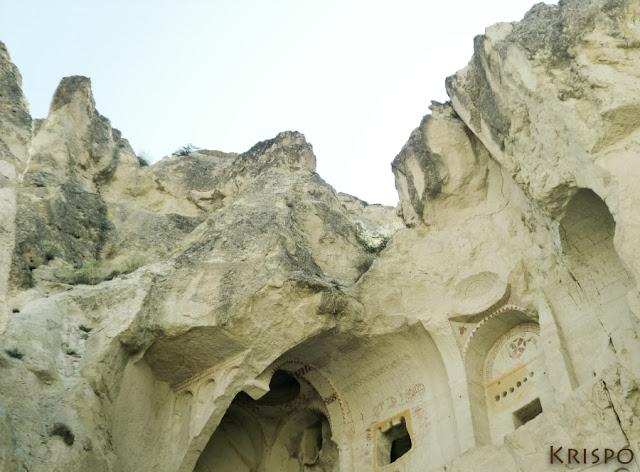 cueva pintada por bizantinos en capadocia