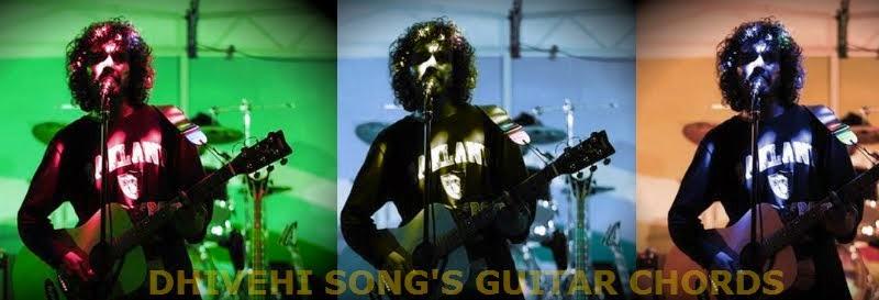 Dhivehi Song Guitar Chords