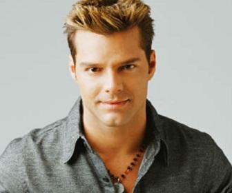 Singer Actor Ricky Martin Poster
