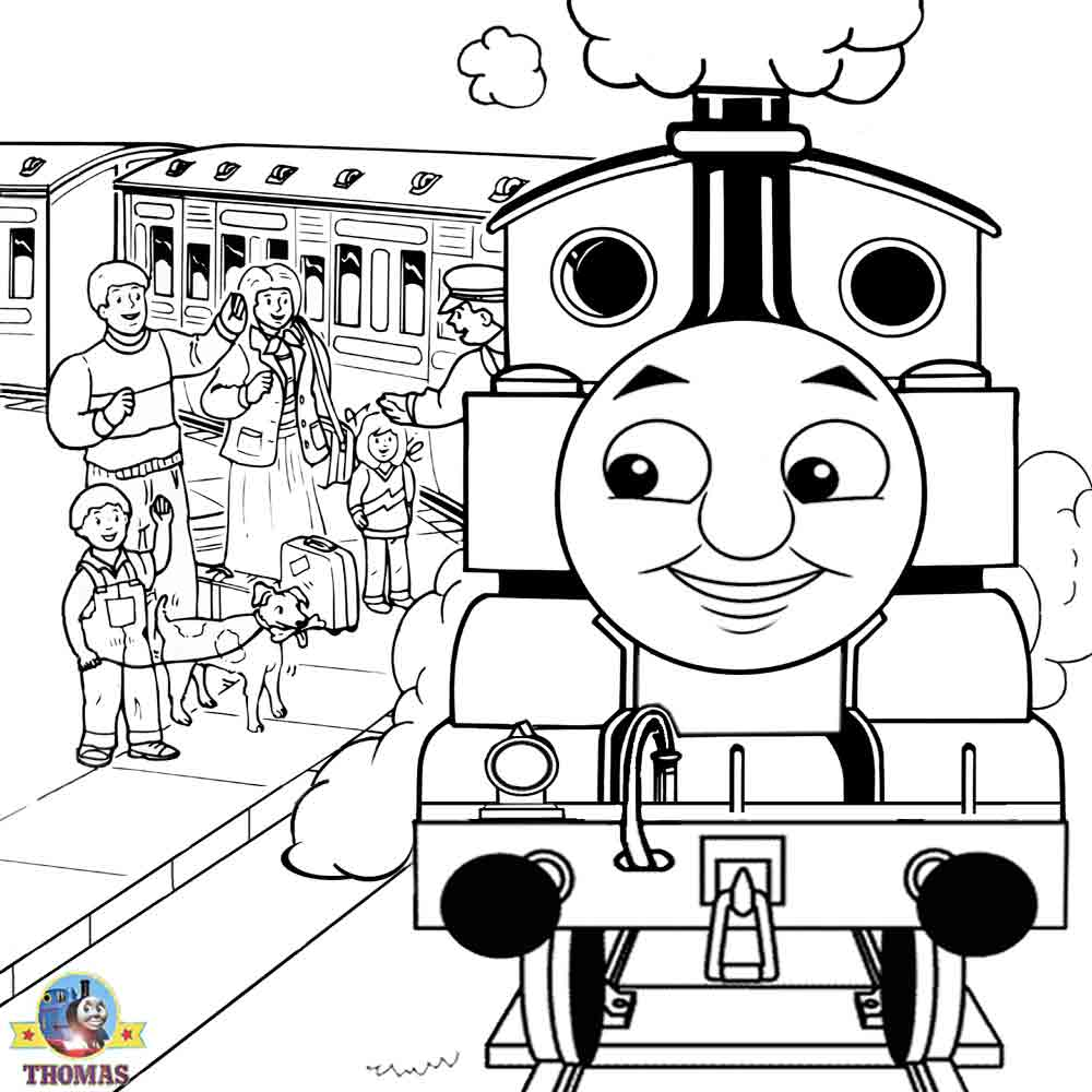 Thomas Coloring Pages Henry Freecoloring4ucom 602x700 Free