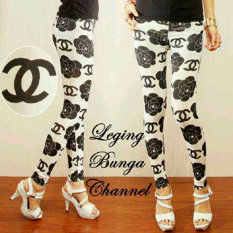 Leging Chanel Flower