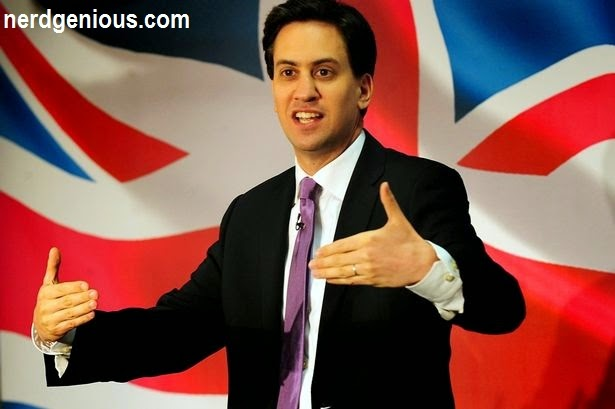 Labour's smartest leader, Ed Miliband, brother of Conservative minister David Miliband
