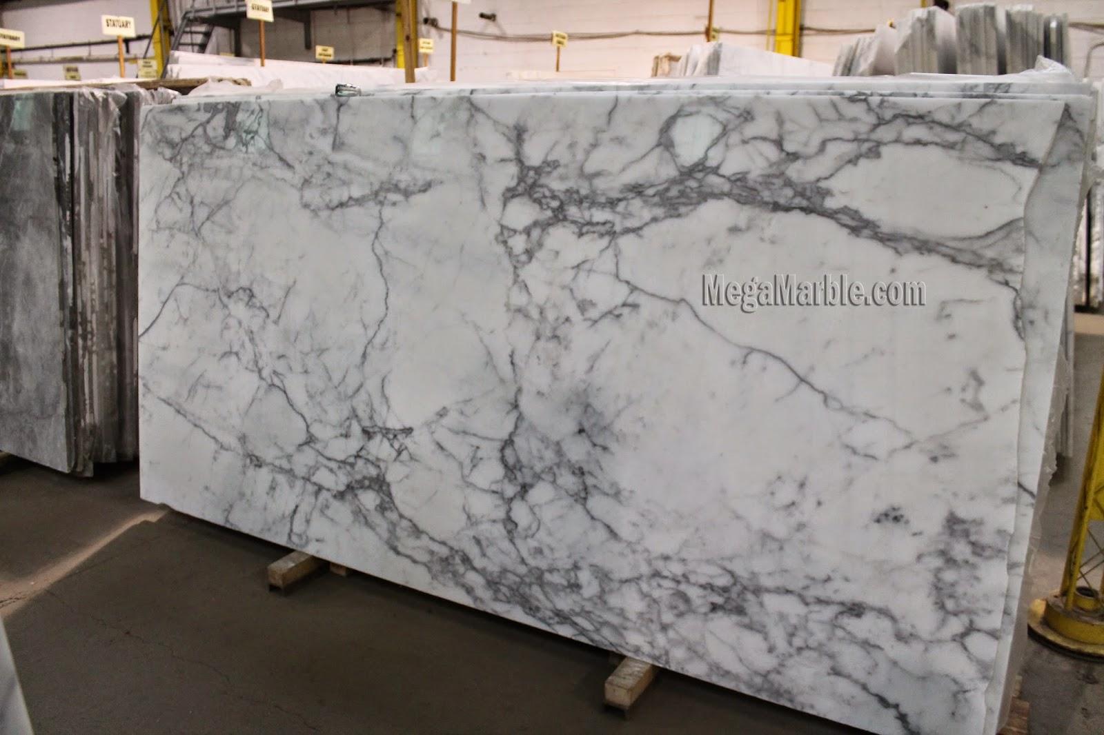 White Marble Slabs : White marble countertops nj