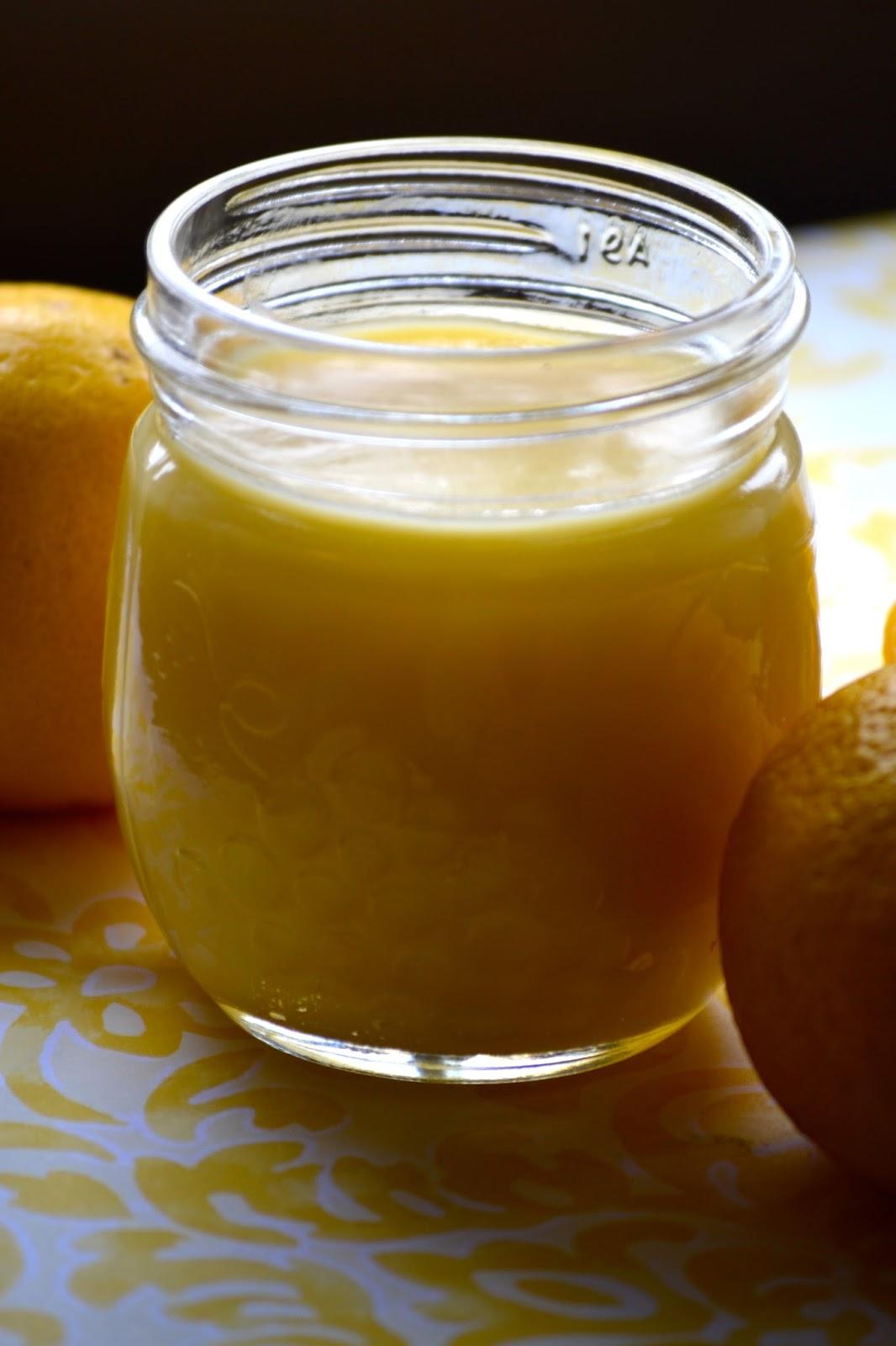 lemon curd with honey