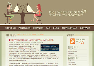 Blog What? Design