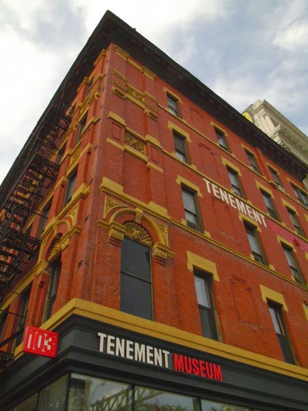 exterior of Lower East Side Tenement Museum in NYC