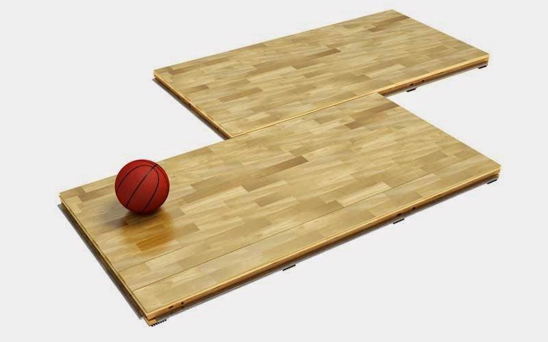 Portable floor parquet