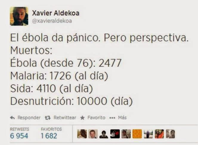 Detectado nuevo caso de Ébola en Madrid...y esto ya mosquea. Twitter_ebola