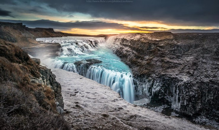 1. Gullfoss Waterfall - Top 10 Things to See and Do in Iceland