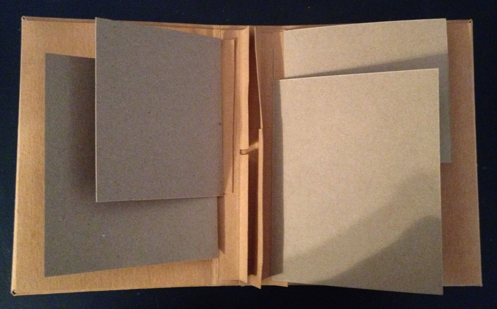 Adjustable Book Cover Tutorial : How to make hinges spines and binding for mini albums