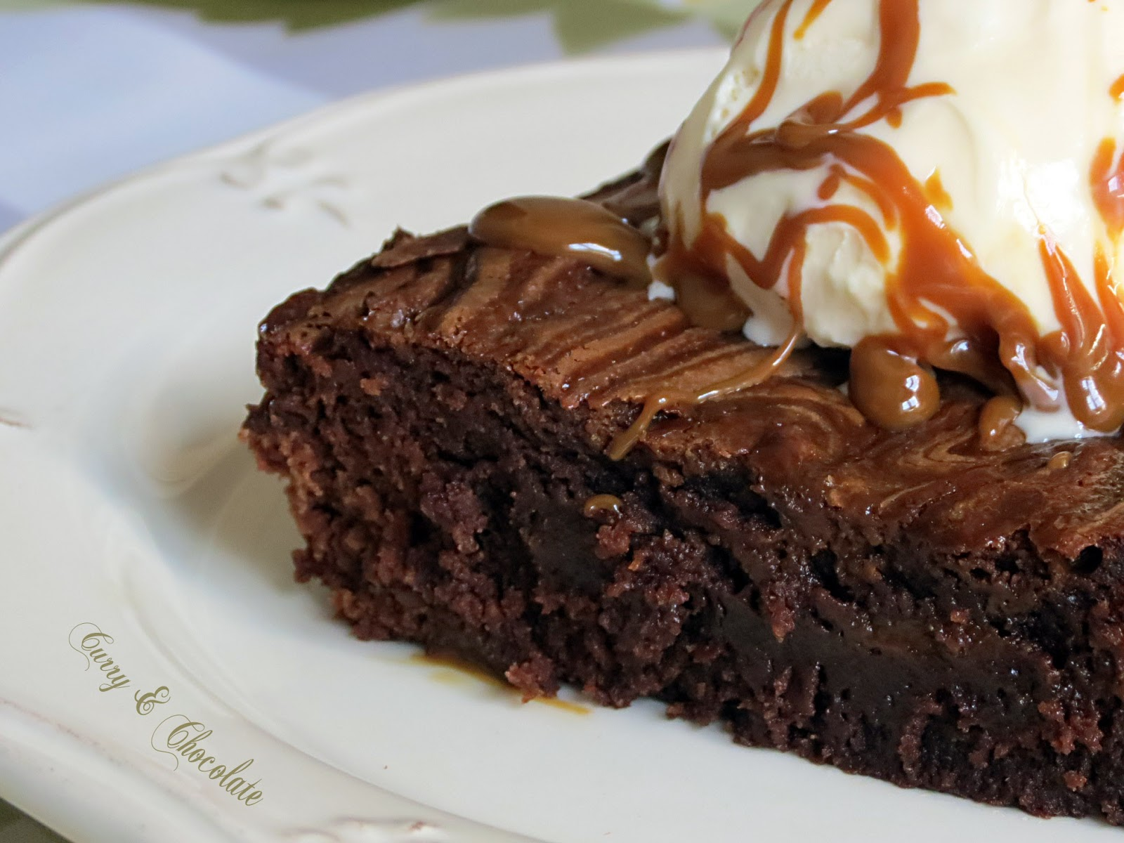Brownies de chocolate con dulce de leche – Dulce de leche brownies