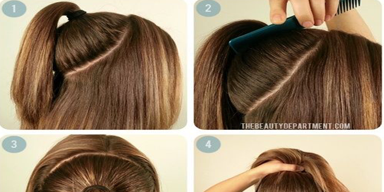 the perfect ponytail hairstyle tutorial for long hair b