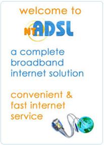 ADSL Internet of NTC