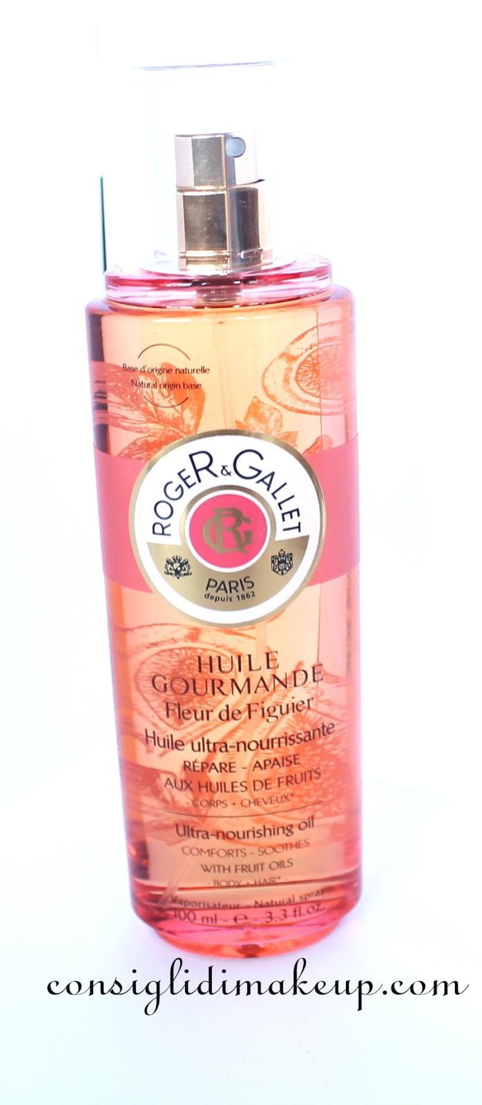 Review: Olio Fleur de Figuier - Roger&Gallet
