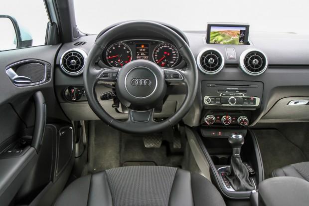 a car Audi A1 2013