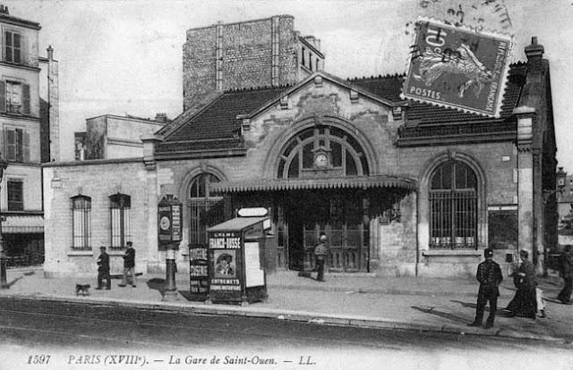 ancienne gare saint ouen Paris