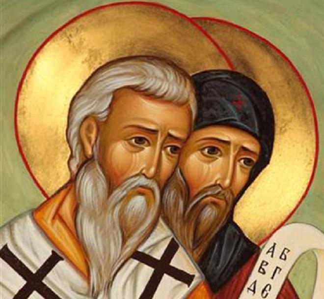Радујте се, Методије и Кириле, народа словенских апостоли и богомудри учитељи!
