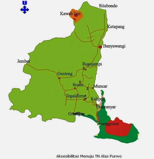 peta maps akses ke g-land plengkung