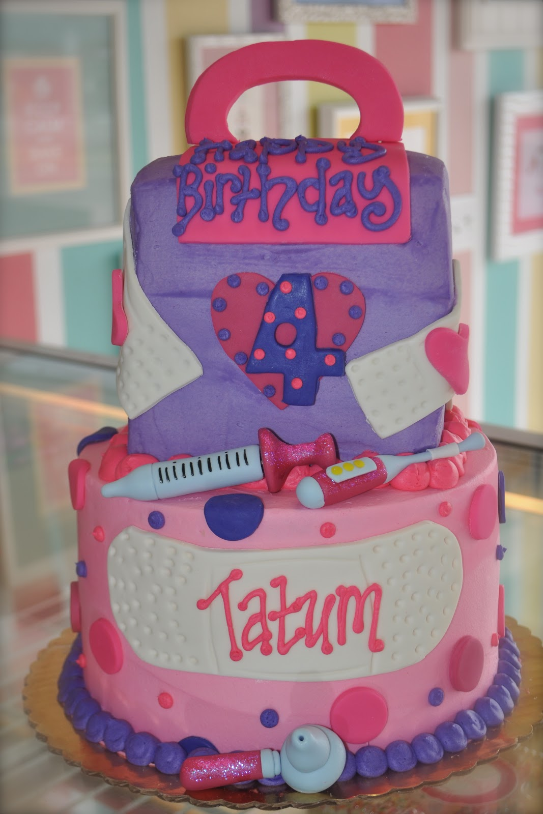 Coolest Cupcakes Doc Mcstuffins Birthday Cake