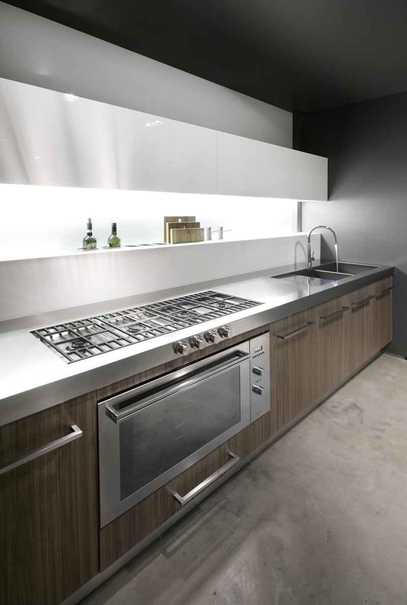 Minosa the galley kitchen minosa kitchens for New galley kitchen designs
