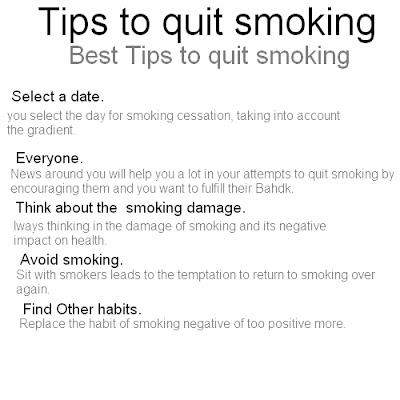 smoking quit tips