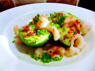 Avocado & Prawn Salad