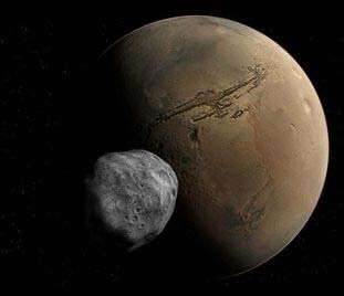 Mar's moon