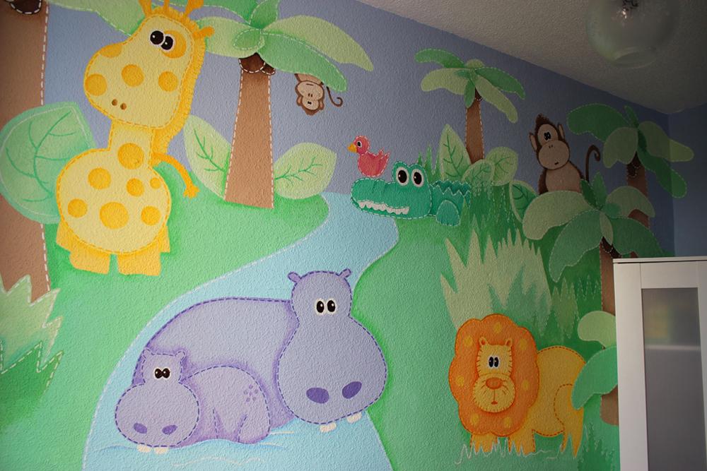 Decopared murales infantiles para todos los gustos - Murales infantiles pared ...