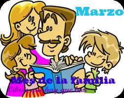 Marzo: mes de la familia