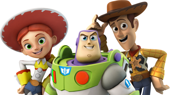 Jesse, woody y buzz lightyear