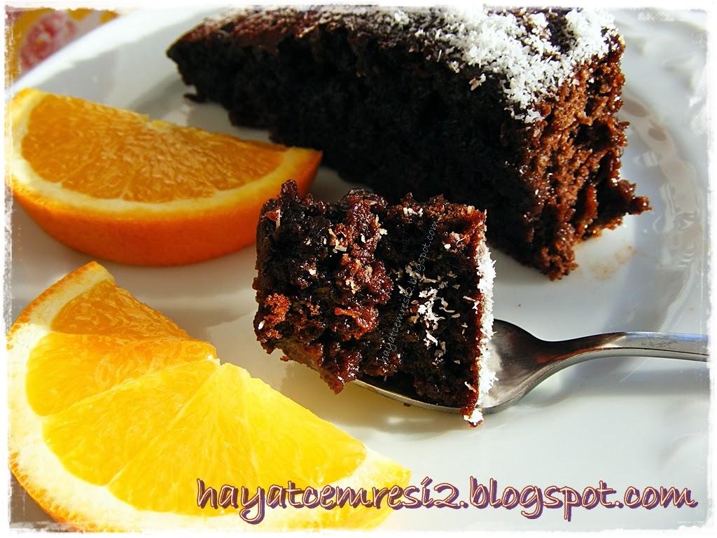 Çikolatalı Islak Kek