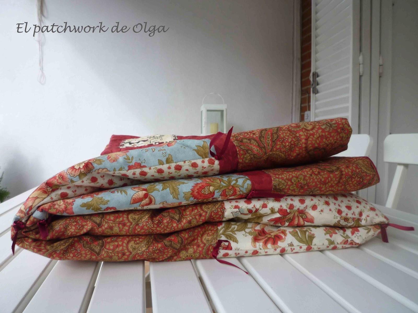El patchwork de olga marzo 2012 - Tela para colchas ...