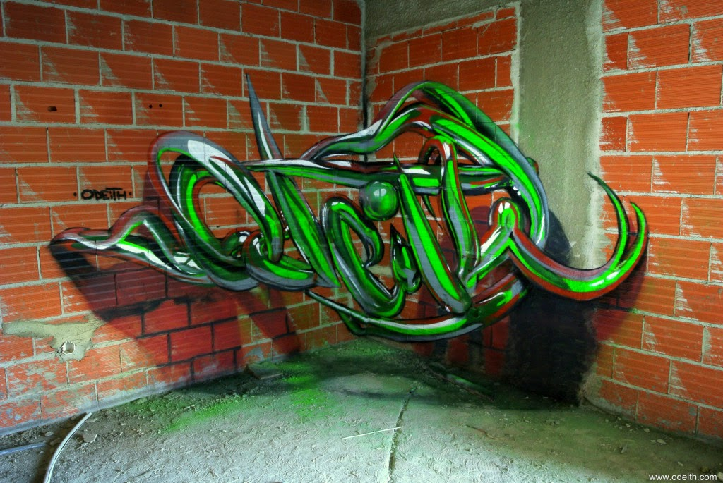 07-Green-Tubes-Odeith-3D-Anamorphic-Graffiti-Drawings-www-designstack-co