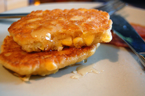 national corn fritters day yay corn fritters are pieces of fried corn ...