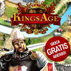KingsAge, il browser game di strategia della Gameforge che ti farà innamorare
