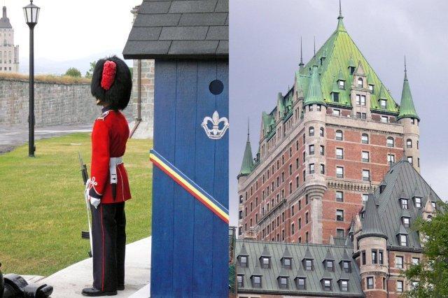 Ciudadela de Quebec y Chateau Frontenac en Quebec, Canada