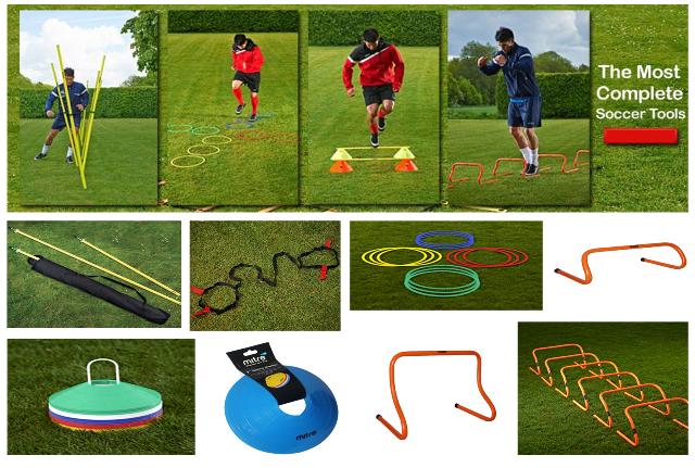 Peralatan Latihan Bola produk Mitre dapat dibeli melalui mitre.co.id situs belanja online perlengkapan futsal dan bola.