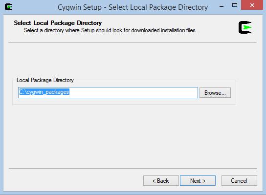 Cygwin Setup 4