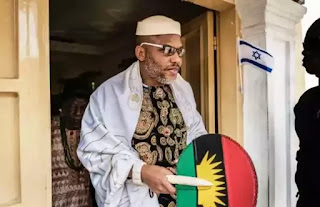 Just in: Nnamdi Kanu's lawyer files suit against Buratai, asks him to produce his client in court.