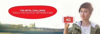 Airtel 4G Fastest internet speed in Hindi