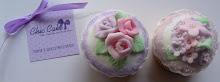 cupcake fiori rosa
