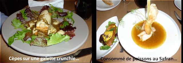 Image entrées Restaurant Les Frères Fourchettes à Toulouse