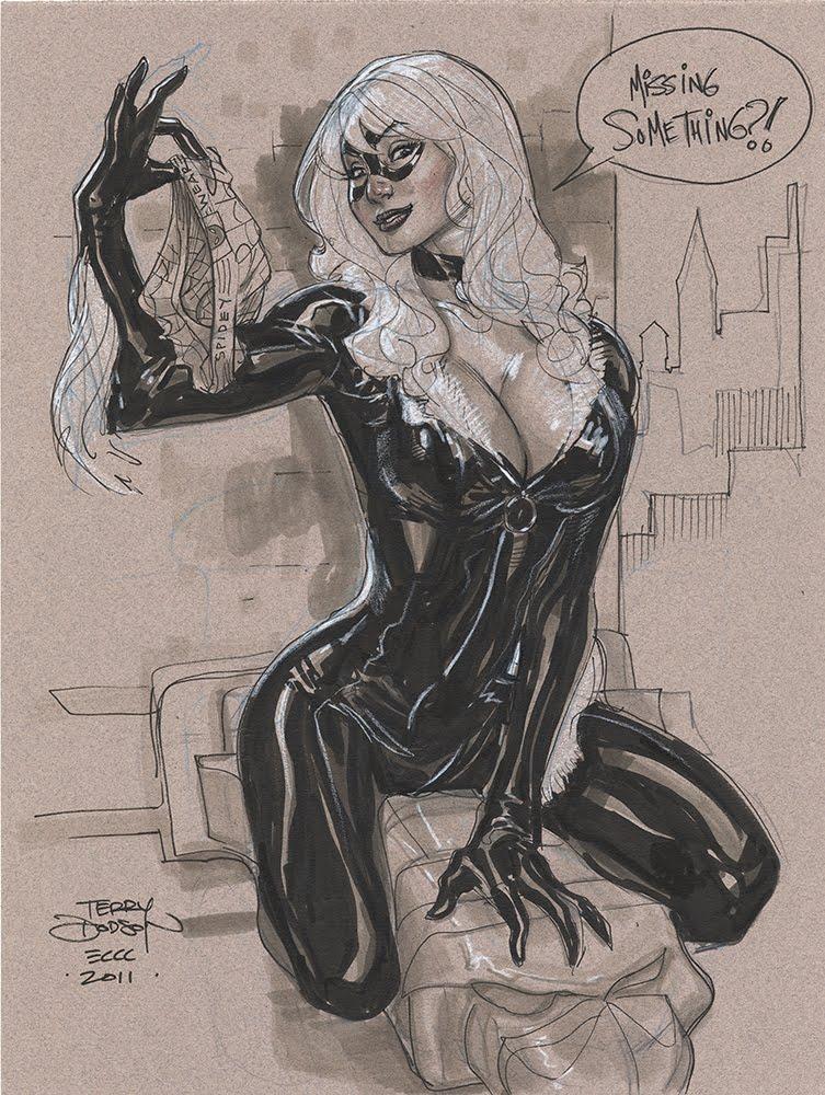 Terry Dodson Black Cat
