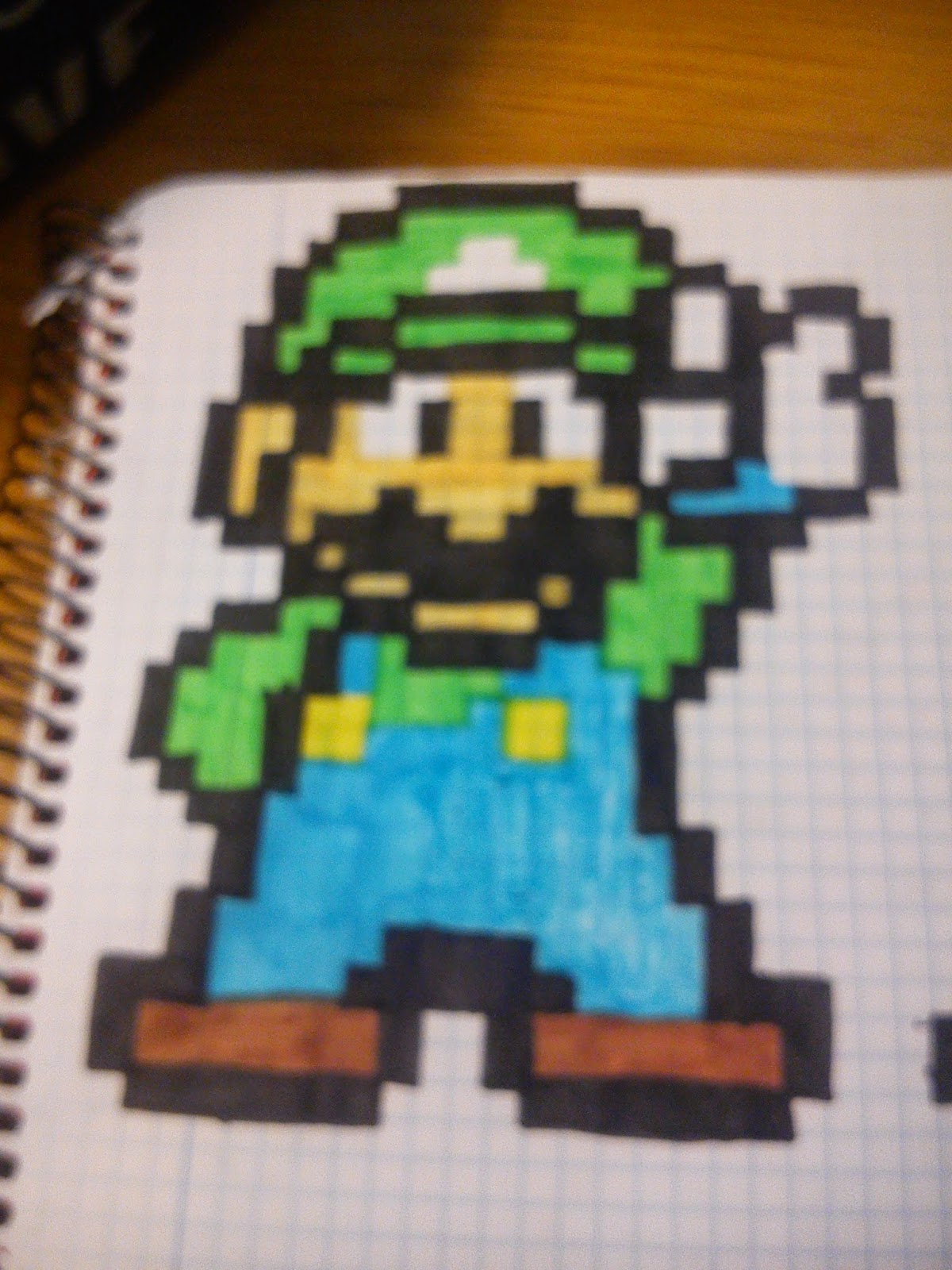 pixel art spain super mario