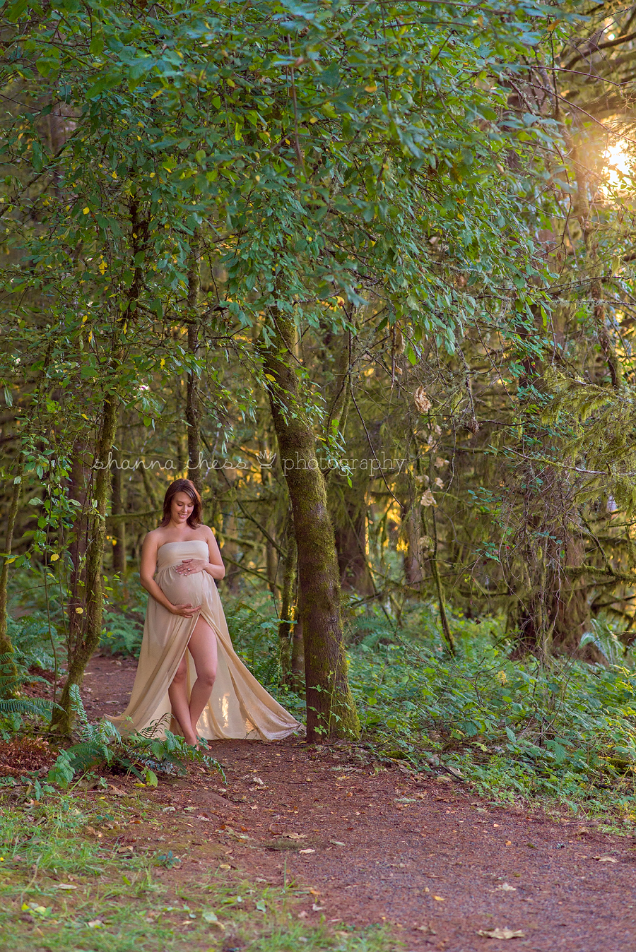 eugene springfield or maternity photography forest