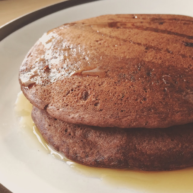 Gluten free pancakes from The UnDiet Cookbook