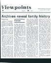 Archives Reveal Family History
